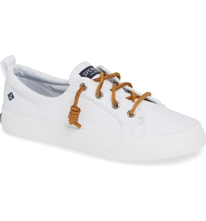 SPERRY Crest Vibe Sneaker, Main, color, WHITE