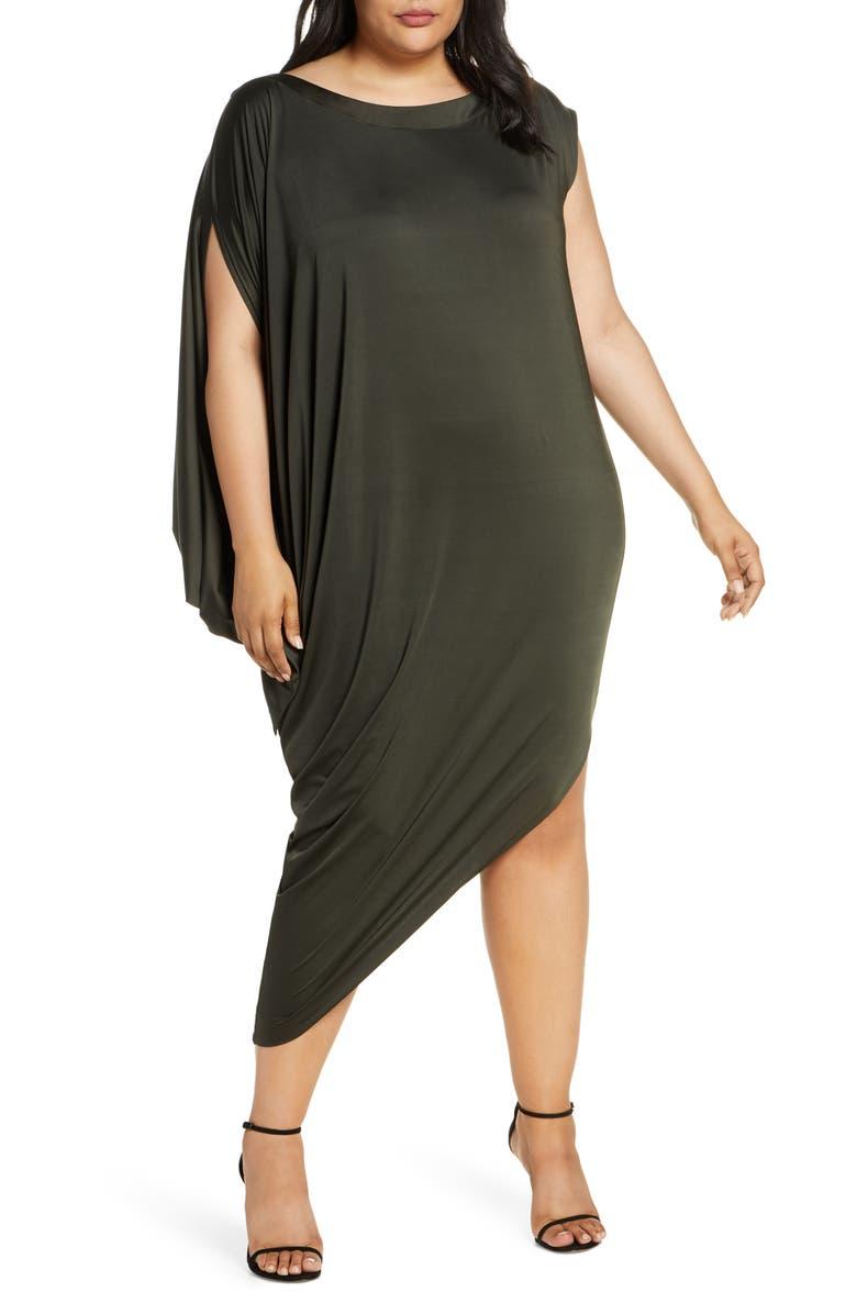 COLDESINA Jenny Convertible Dress, Main, color, ARMY