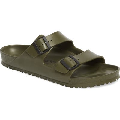 Birkenstock Essentials - Arizona Eva Waterproof Slide Sandal,8.5 - Green