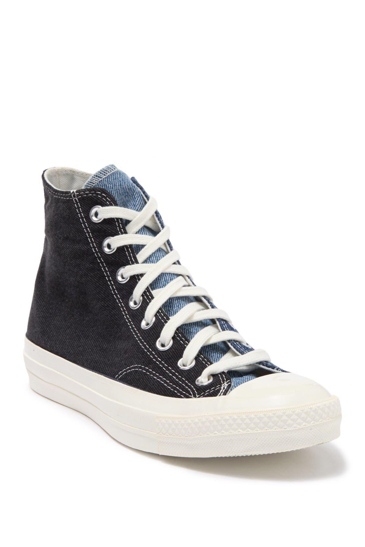 Converse   Chuck High Top Denim Sneaker