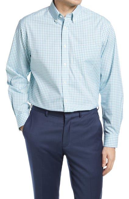 Image of NORDSTROM MEN'S SHOP Gingham Regular Fit Dress Shirt