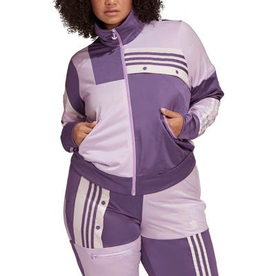 Plus Size Adidas Originals X Danielle Cathari Track Jacket, Purple