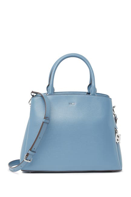 Image of DKNY Paige Large Leather Satchel