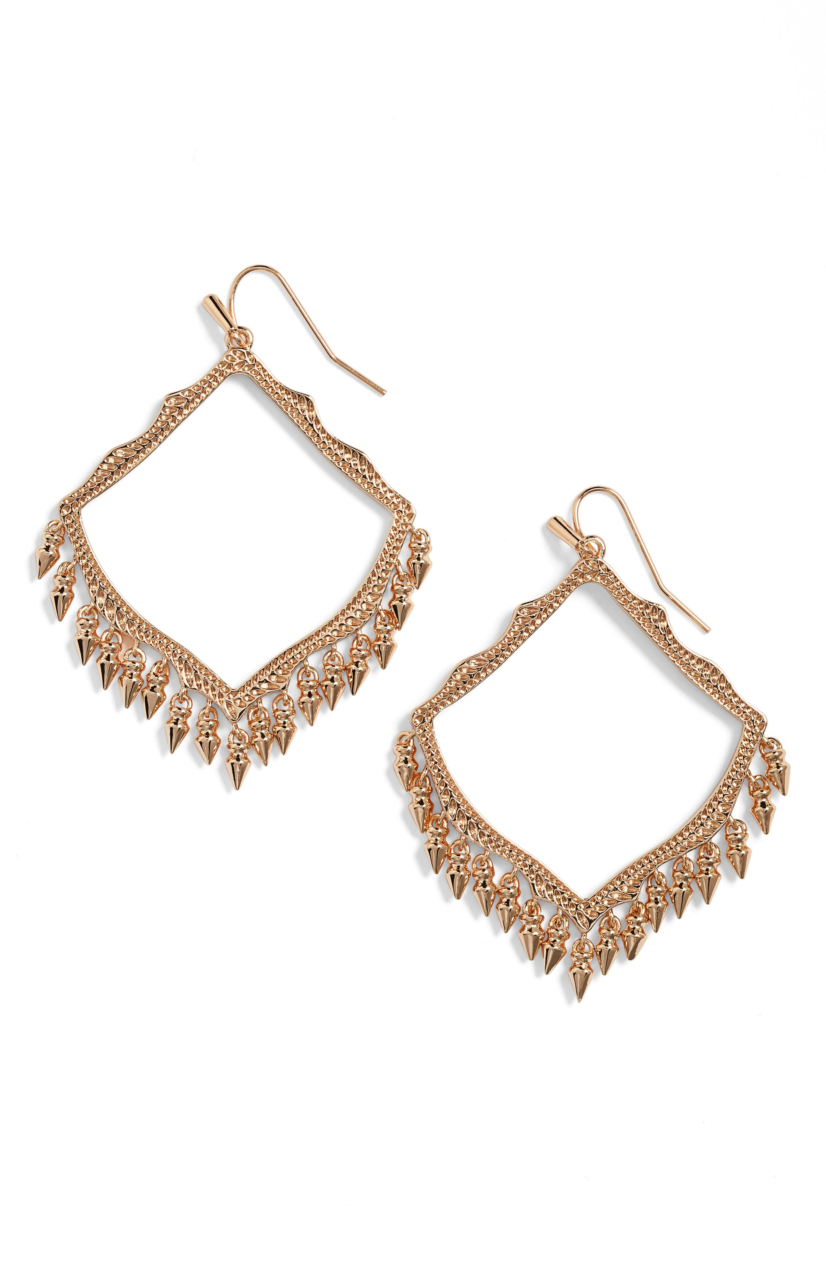 ,                             Lacy Drop Earrings,                             Main thumbnail 4, color,                             650