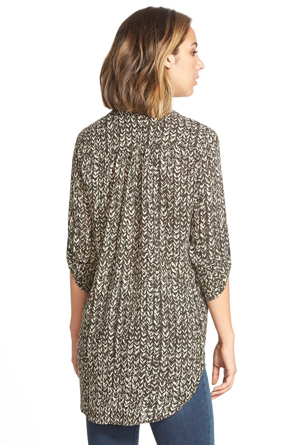 ,                             Perfect Roll Tab Sleeve Tunic,                             Alternate thumbnail 247, color,                             313