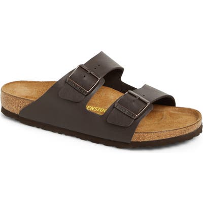 Birkenstock Arizona Slide Sandal,12.5 - Brown