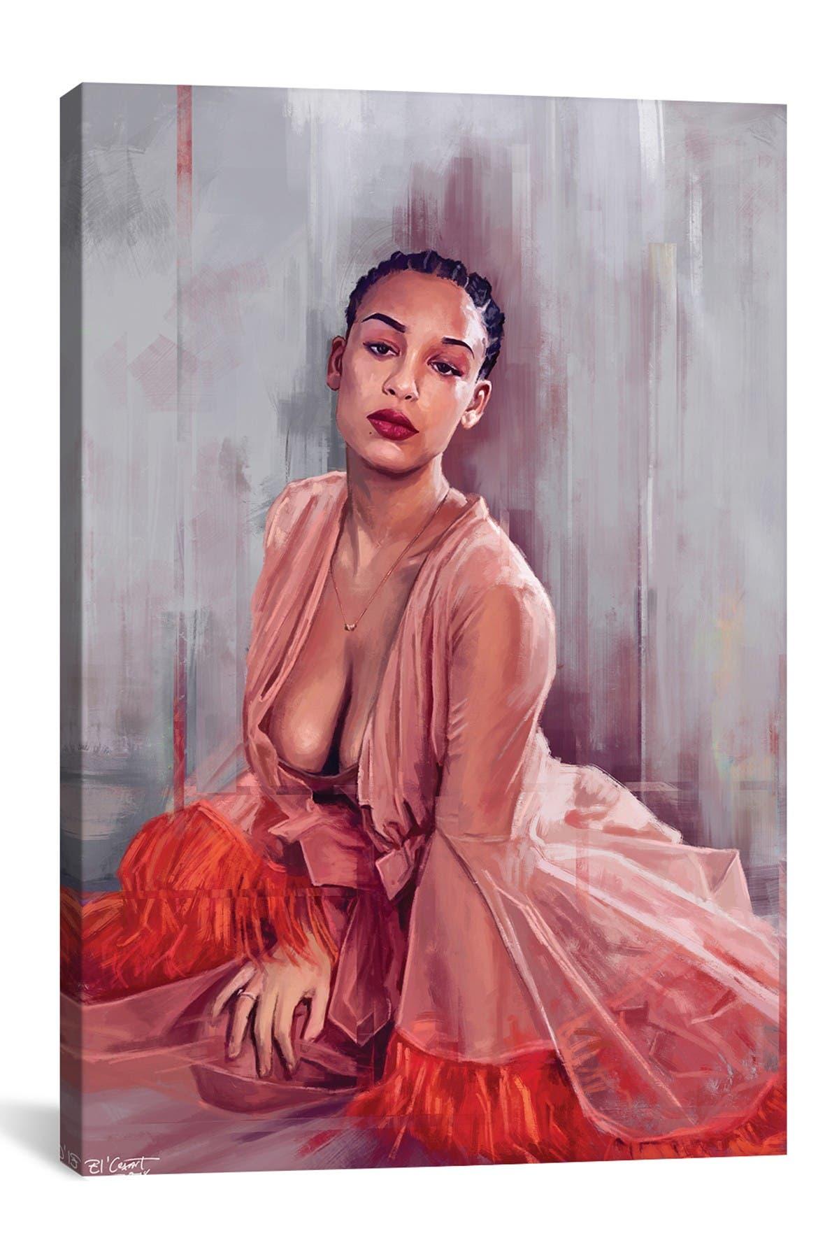 Image of iCanvas Jorja Smith by El'Cesart