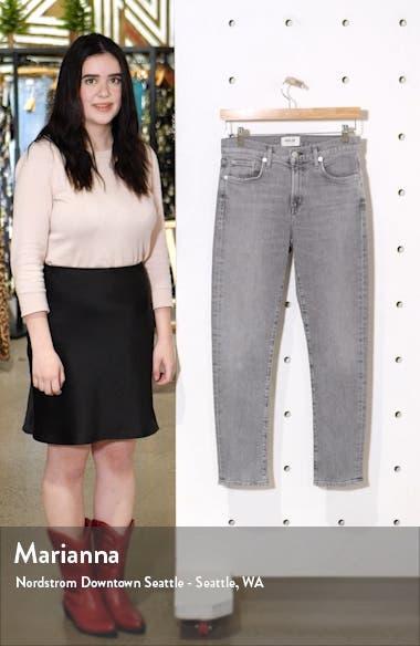 Toni High Waist Ankle Straight Leg Jeans, sales video thumbnail