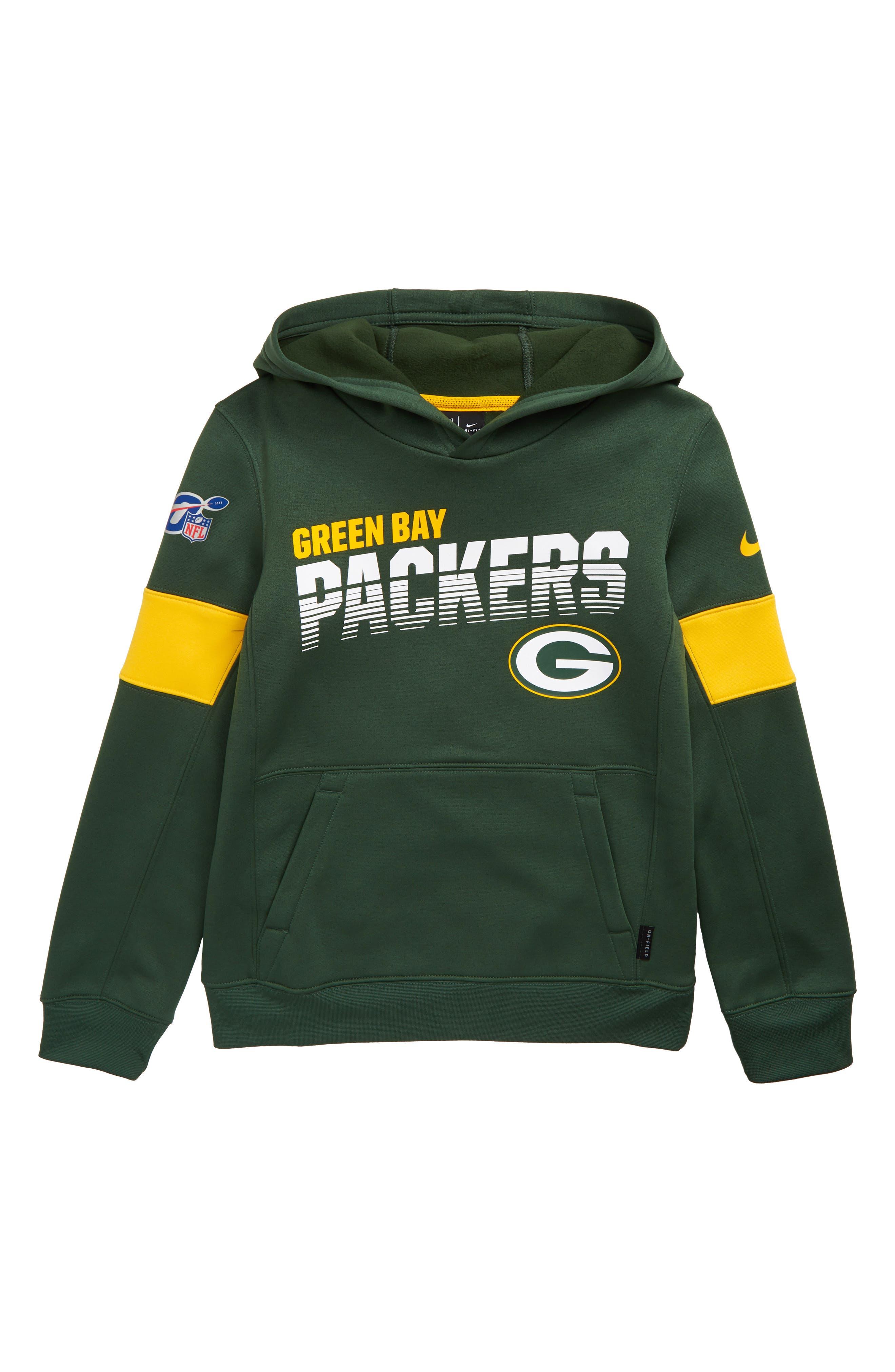 boys green bay packer sweatshirt