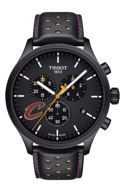 Image of Tissot Men's Chrono XL NBA Teams Special Cleveland Cavaliers Edition, 45mm
