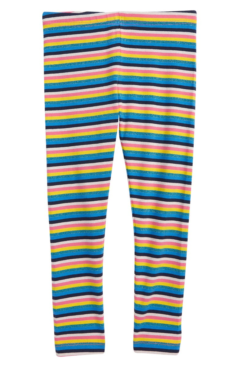 TUCKER + TATE Sparkle Stripe Leggings, Main, color, PINK SHOCK MULTI STRIPE