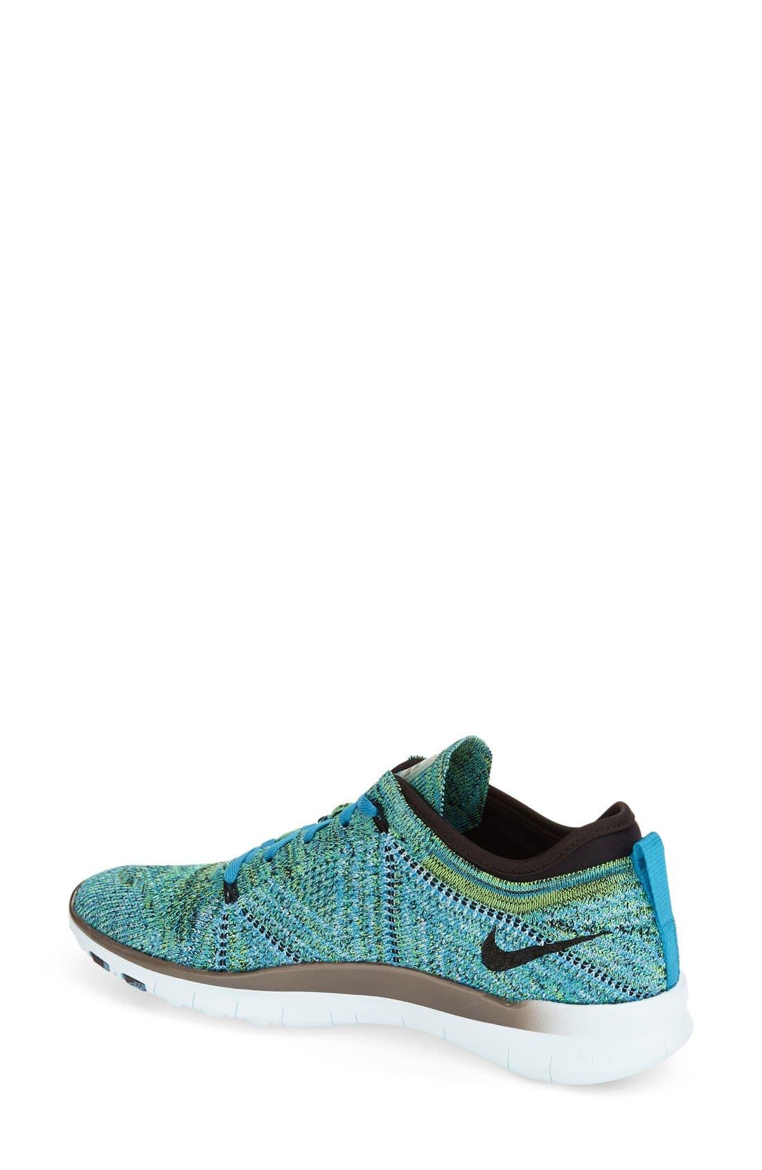 ,                             'Free Flyknit 5.0 TR' Training Shoe,                             Alternate thumbnail 38, color,                             499
