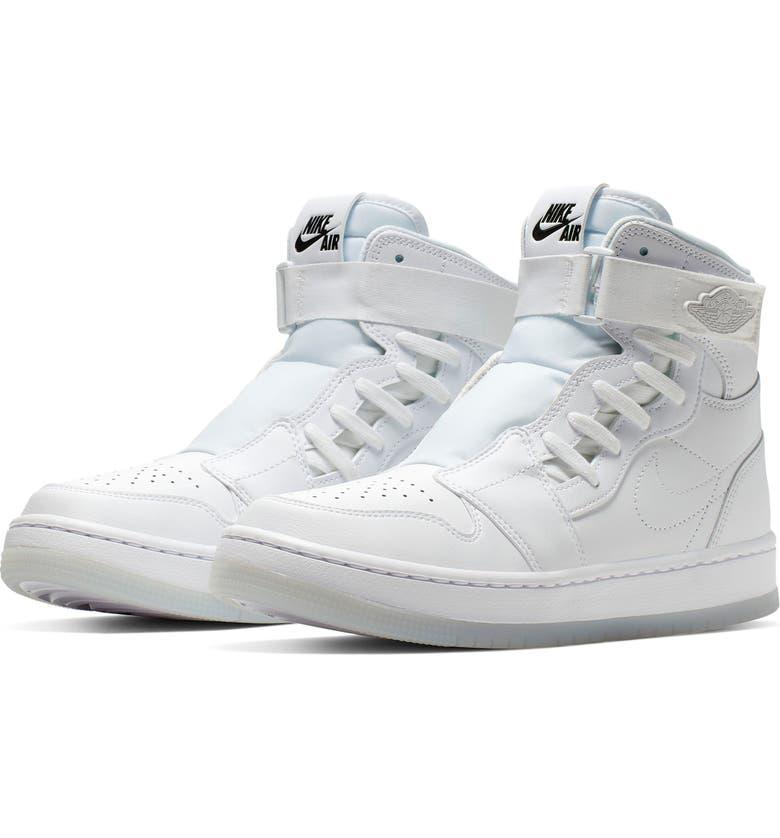 JORDAN Air Jordan 1 Nova XX High Top Sneaker, Main, color, WHITE/ BLACK/ WHITE