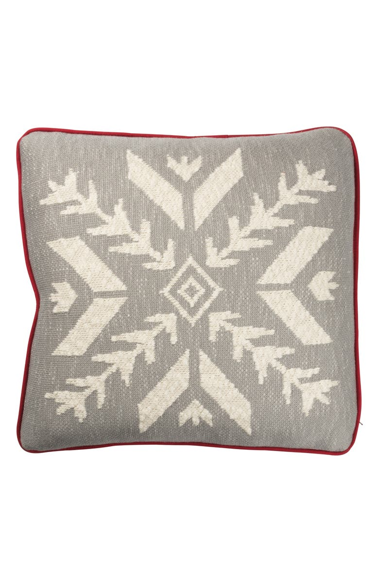 PRIMITIVES BY KATHY Nordic Accent Pillow, Main, color, GREY