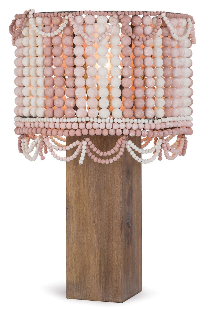 REGINA ANDREW Design Malibu Table Lamp, Main, color, WEATHERED PINK