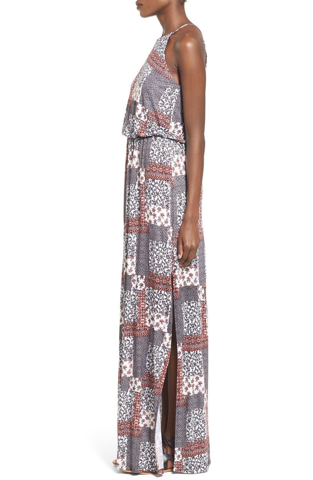 ,                             High Neck Maxi Dress,                             Alternate thumbnail 57, color,                             220