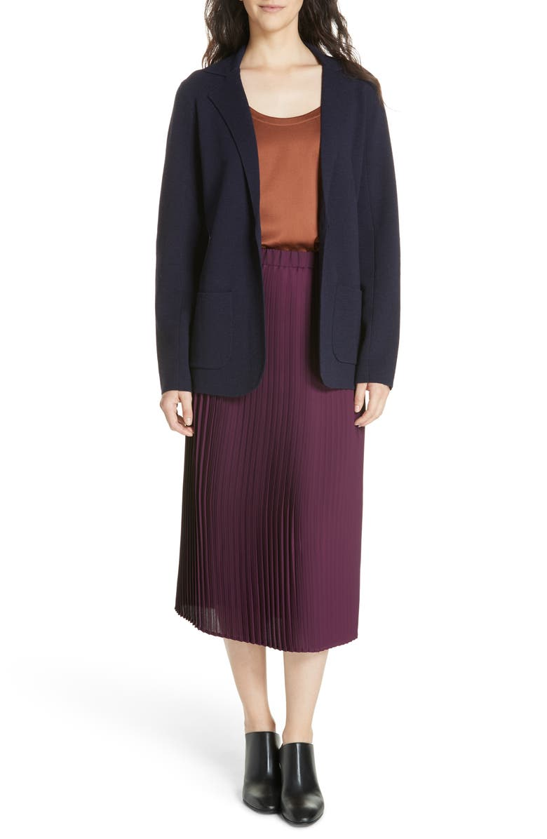 EILEEN FISHER Pleat Skirt, Main, color, 504
