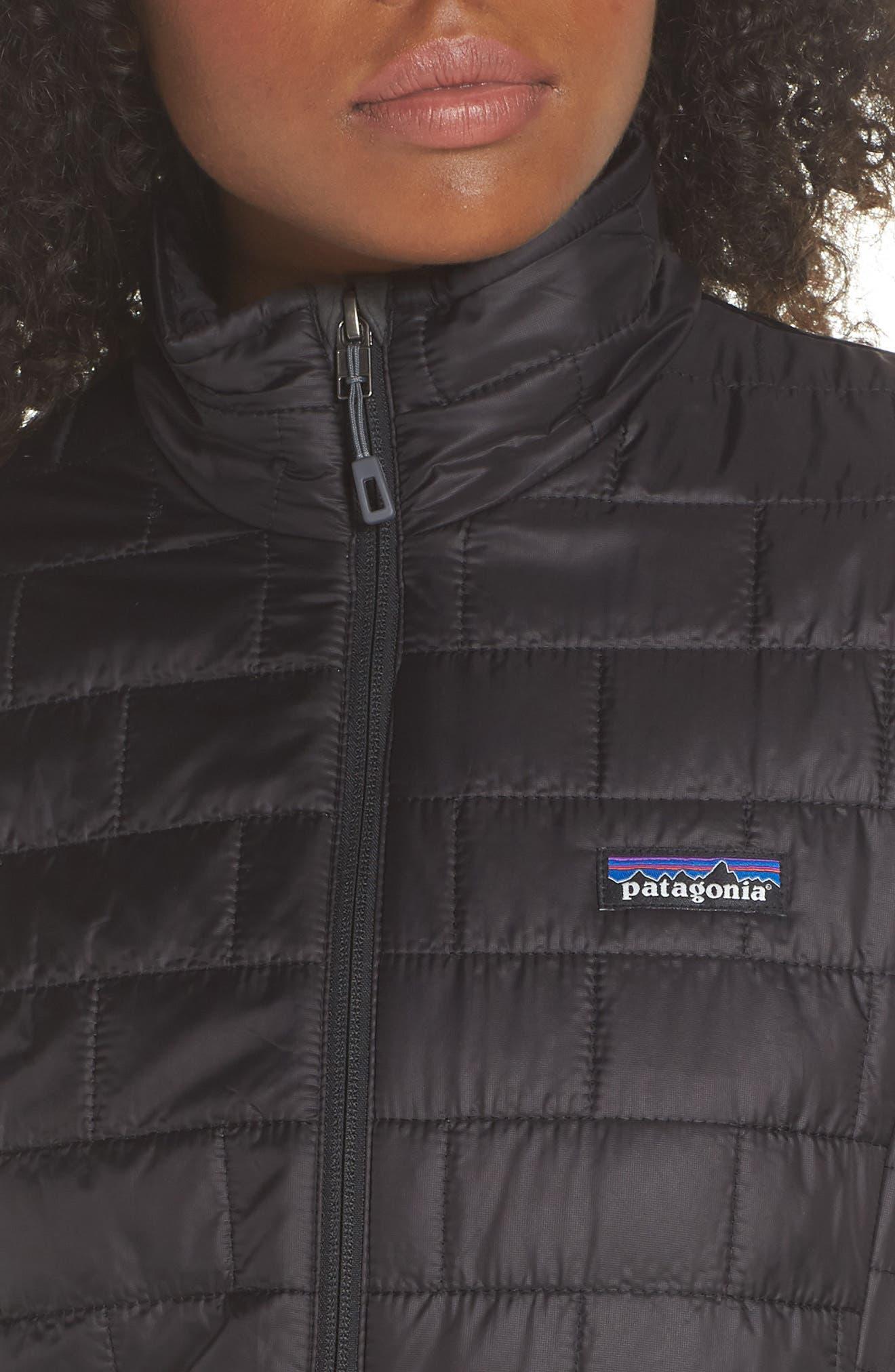 ,                             Nano Puff<sup>®</sup> Water Resistant Jacket,                             Alternate thumbnail 5, color,                             BLACK