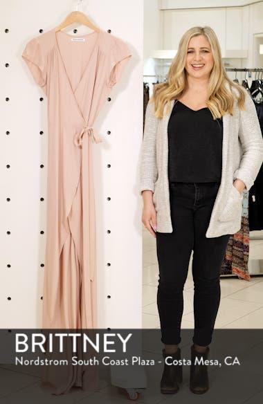 Chamomile Wrap Maxi Dress, sales video thumbnail