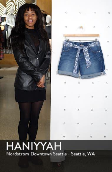Carter Girlfriend Denim Shorts, sales video thumbnail