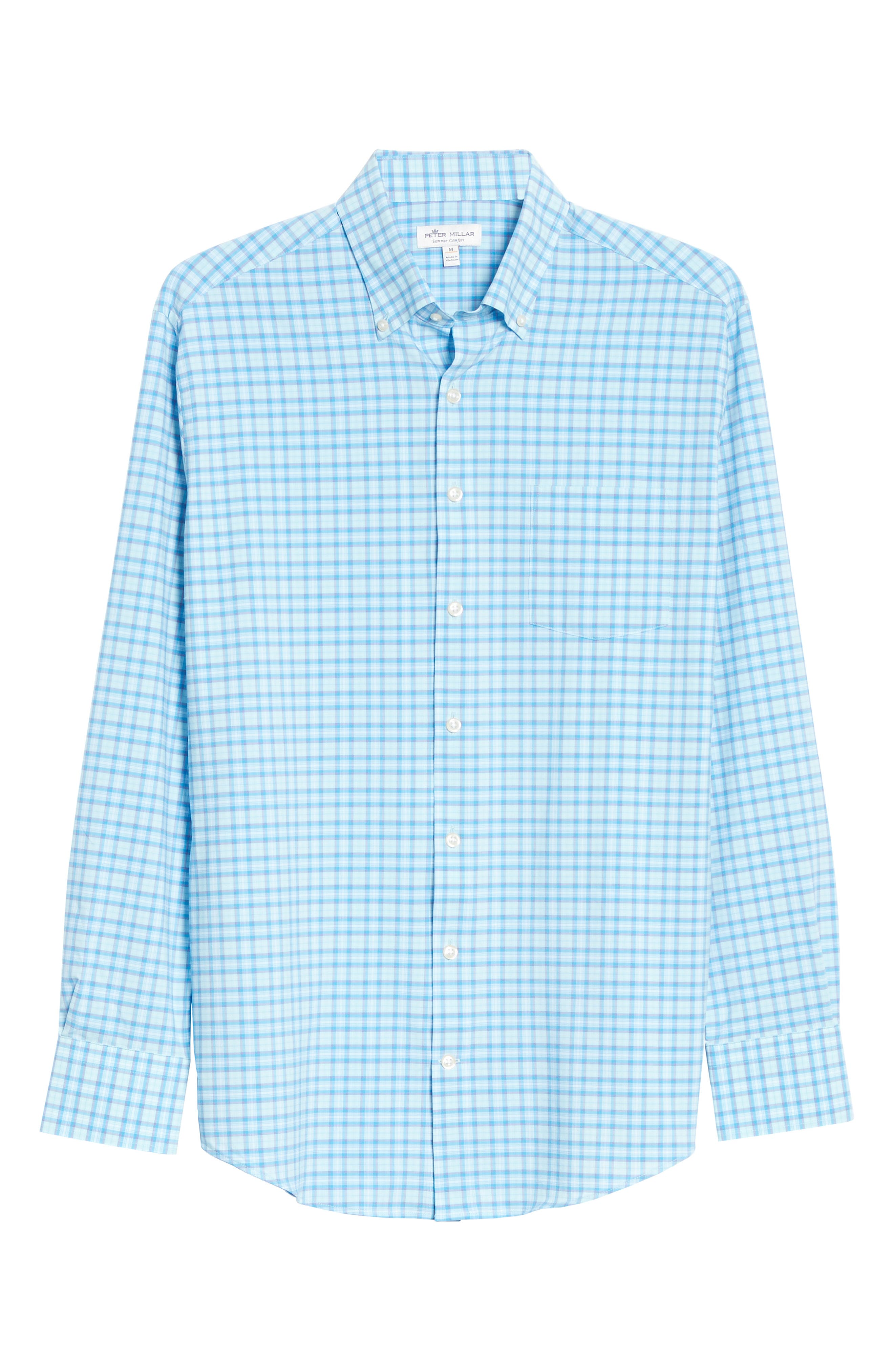 Image of Peter Millar 4-Way Stretch Woven Shirt