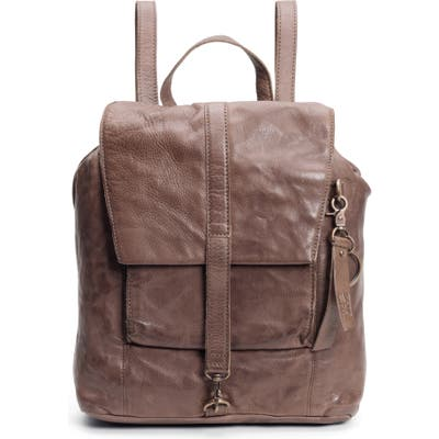 Frye And Co Rubie Small Leather Backpack - Brown
