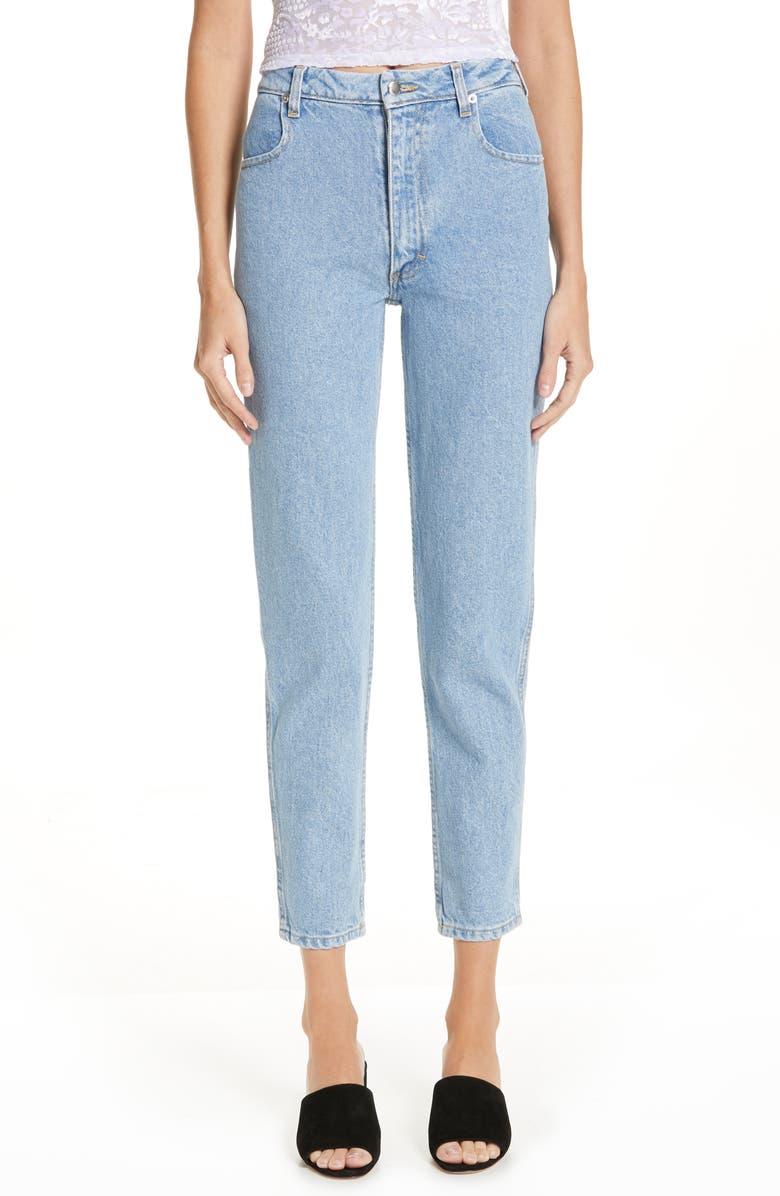 ECKHAUS LATTA EL Classic Straight Leg Jeans, Main, color, BLUE
