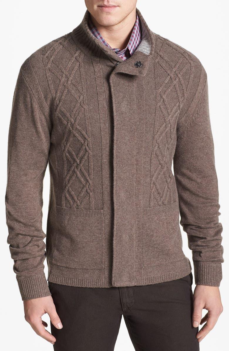 ZACHARY PRELL 'Breckenridge' Wool & Cashmere Cardigan, Main, color, 260
