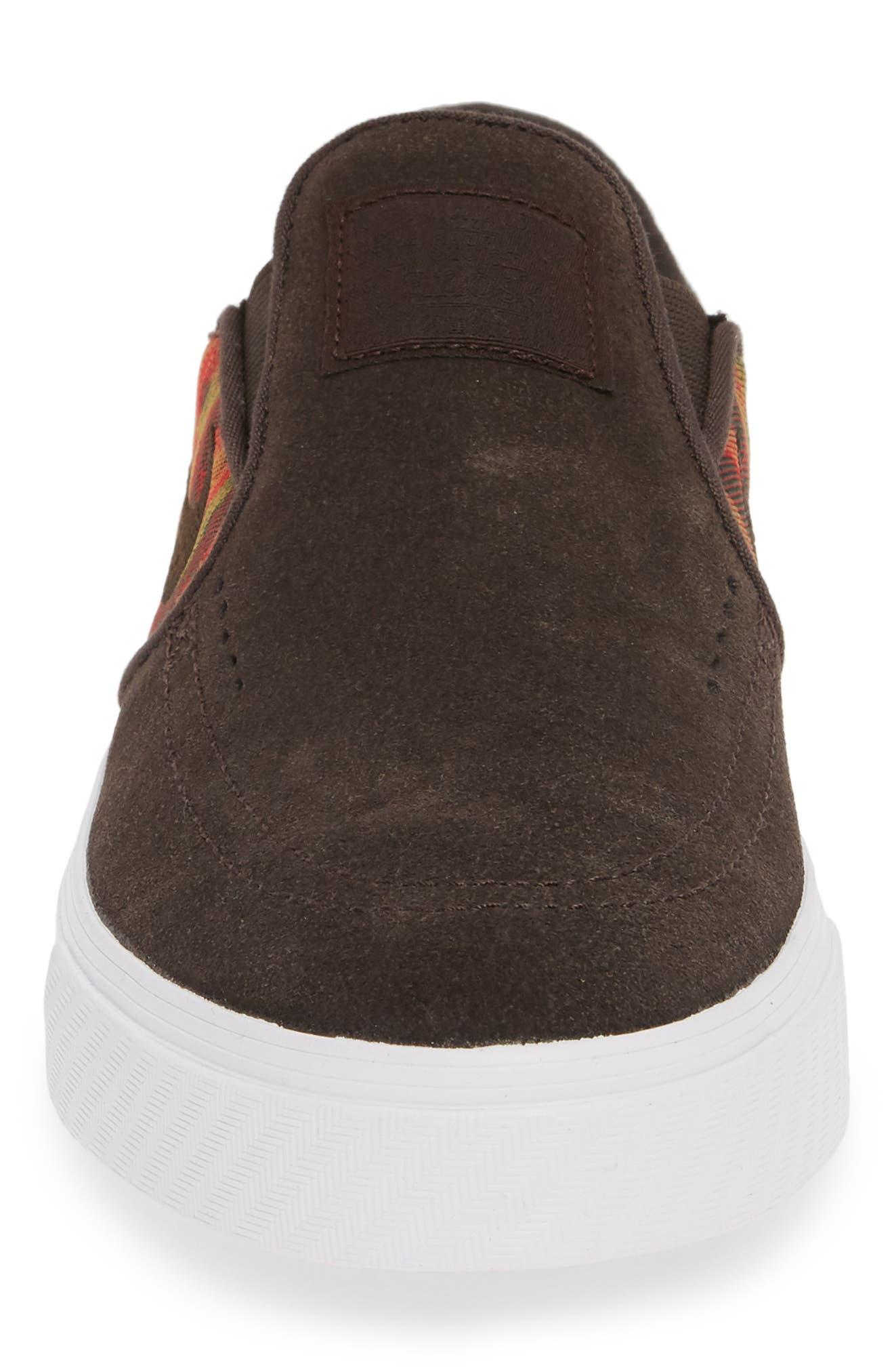,                             'SB Zoom Stefan Janoski' Slip-On Premium Sneaker,                             Alternate thumbnail 4, color,                             200