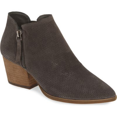 Vince Camuto Nethera Perforated Bootie, Grey (Nordstrom Exclusive)