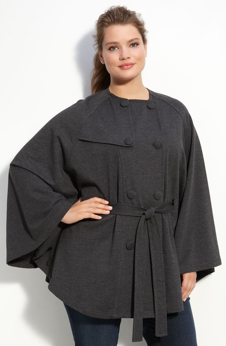 KUT FROM THE KLOTH Double Breasted Cape, Main, color, 020