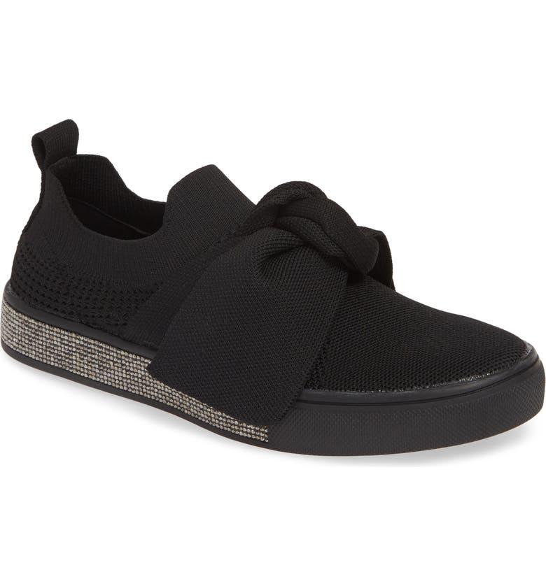 BERNIE MEV. Spark Serenity Sneaker, Main, color, BLACK FABRIC