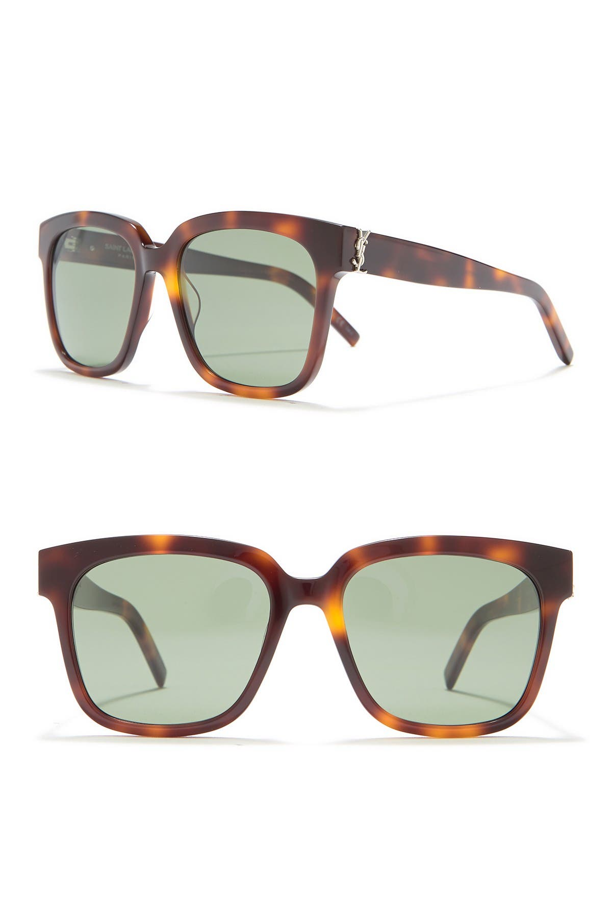 Image of Saint Laurent Square 54mm Sunglasses