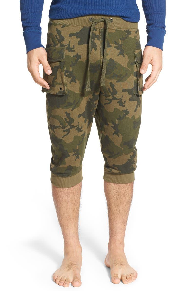 2(X)IST Crop Cargo Pants, Main, color, OLIVE CAMO