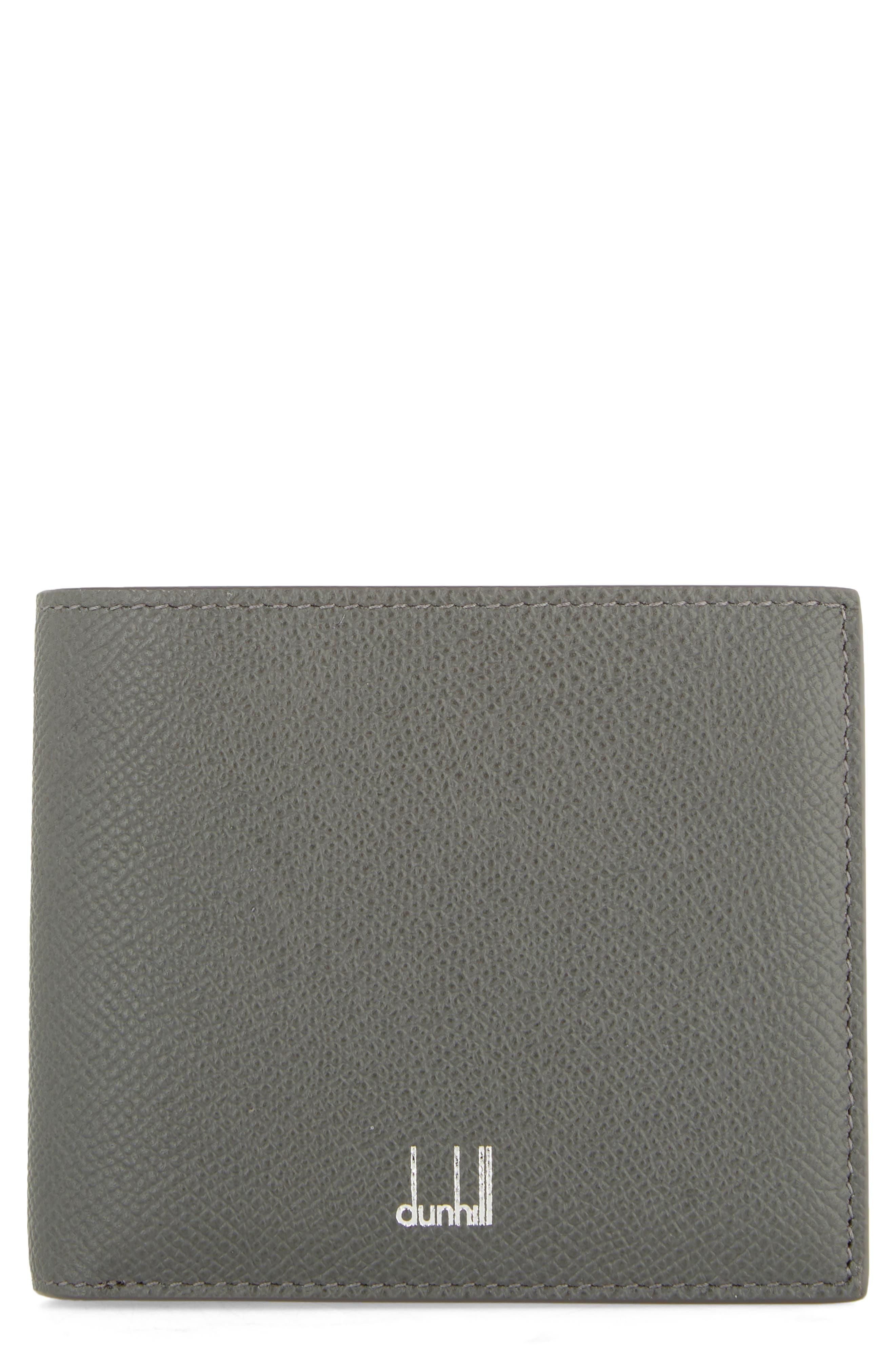 Dunhill Cadogan Leather Wallet - Grey