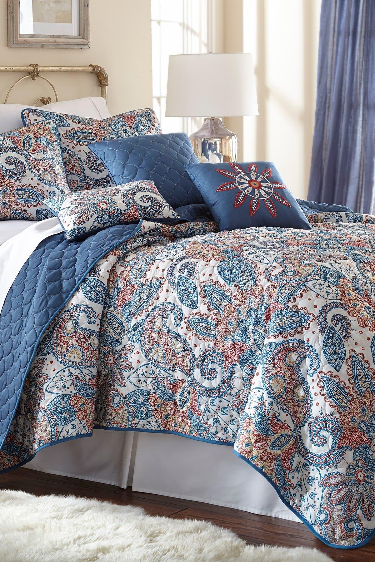 Image of Modern Threads Queen Arcadia Reversible Quilt Set - Arcadia