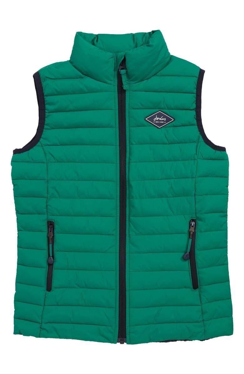 JOULES Crofton Packable Vest, Main, color, 310