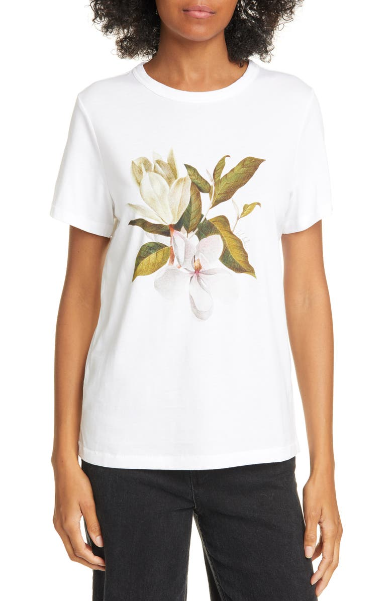 TED BAKER LONDON Danikka Opal Relaxed Tee, Main, color, WHITE