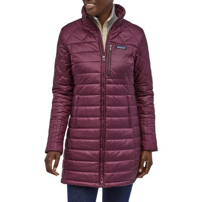 Patagonia Radalie Water Repellent Insulated Parka, Purple