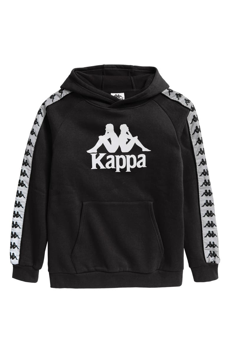 KAPPA 222 Banda Graphic Hoodie, Main, color, 001