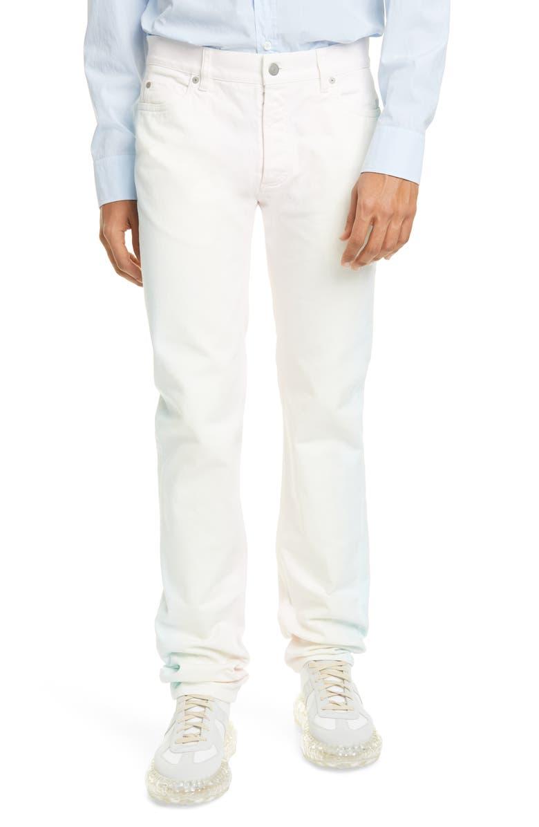 MAISON MARGIELA Ombré Five-Pocket Pants, Main, color, SUNRISE DYEING