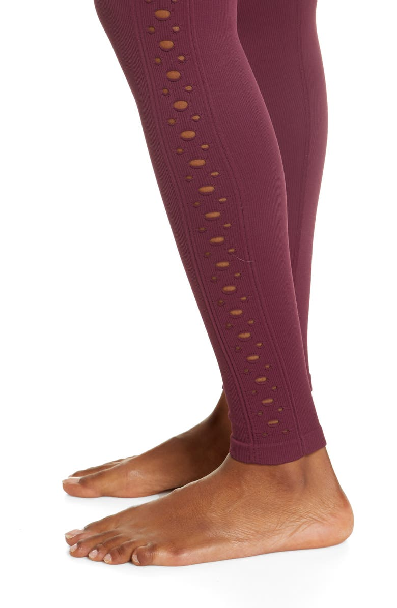 SPIRITUAL GANGSTER Self Love Leggings, Main, color, FIG