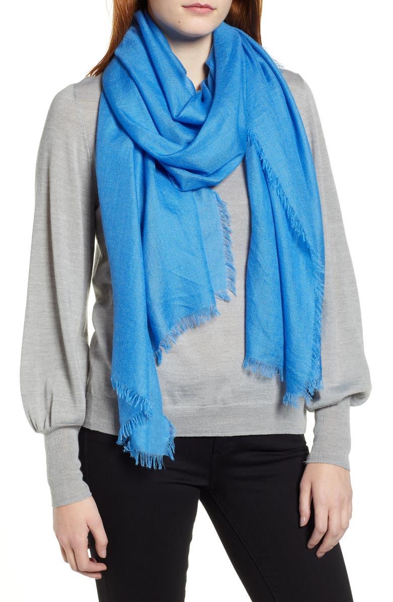 NORDSTROM Cashmere & Silk Wrap, Main, color, 402