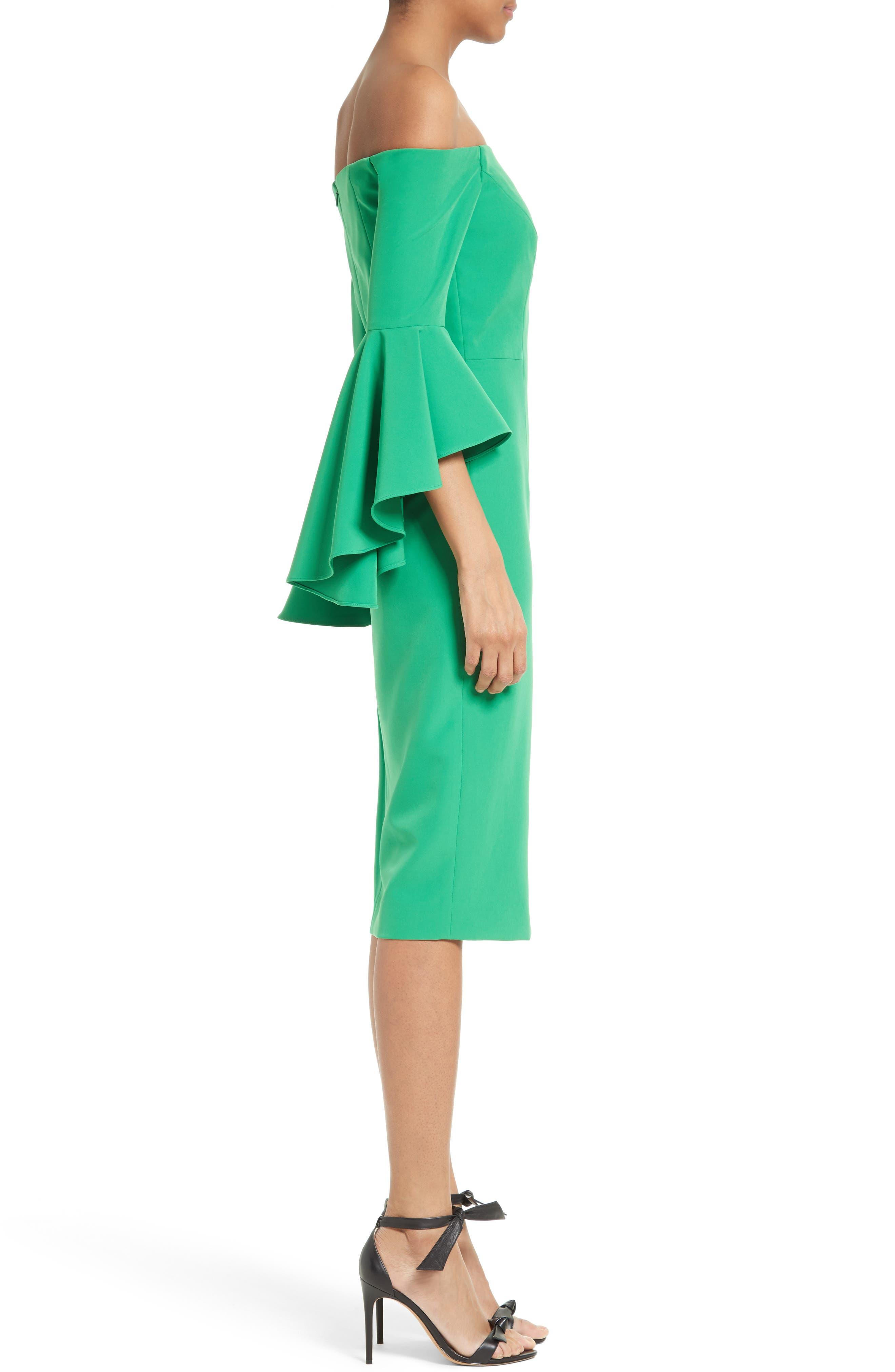 ,                             Selena Off the Shoulder Midi Dress,                             Alternate thumbnail 29, color,                             301