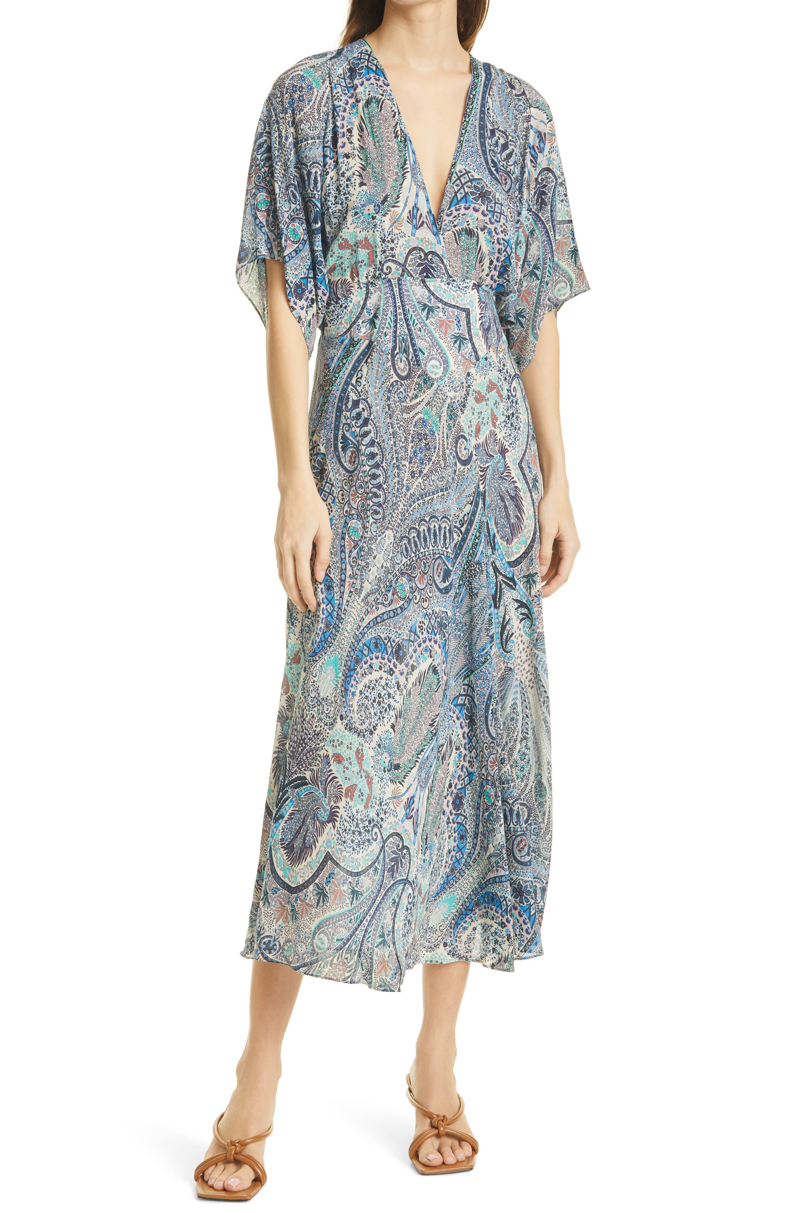 White Silk Lingerie Gown Adrianna Natural White Silk Charmeuse /& Floral Print Silk Chiffon Gown
