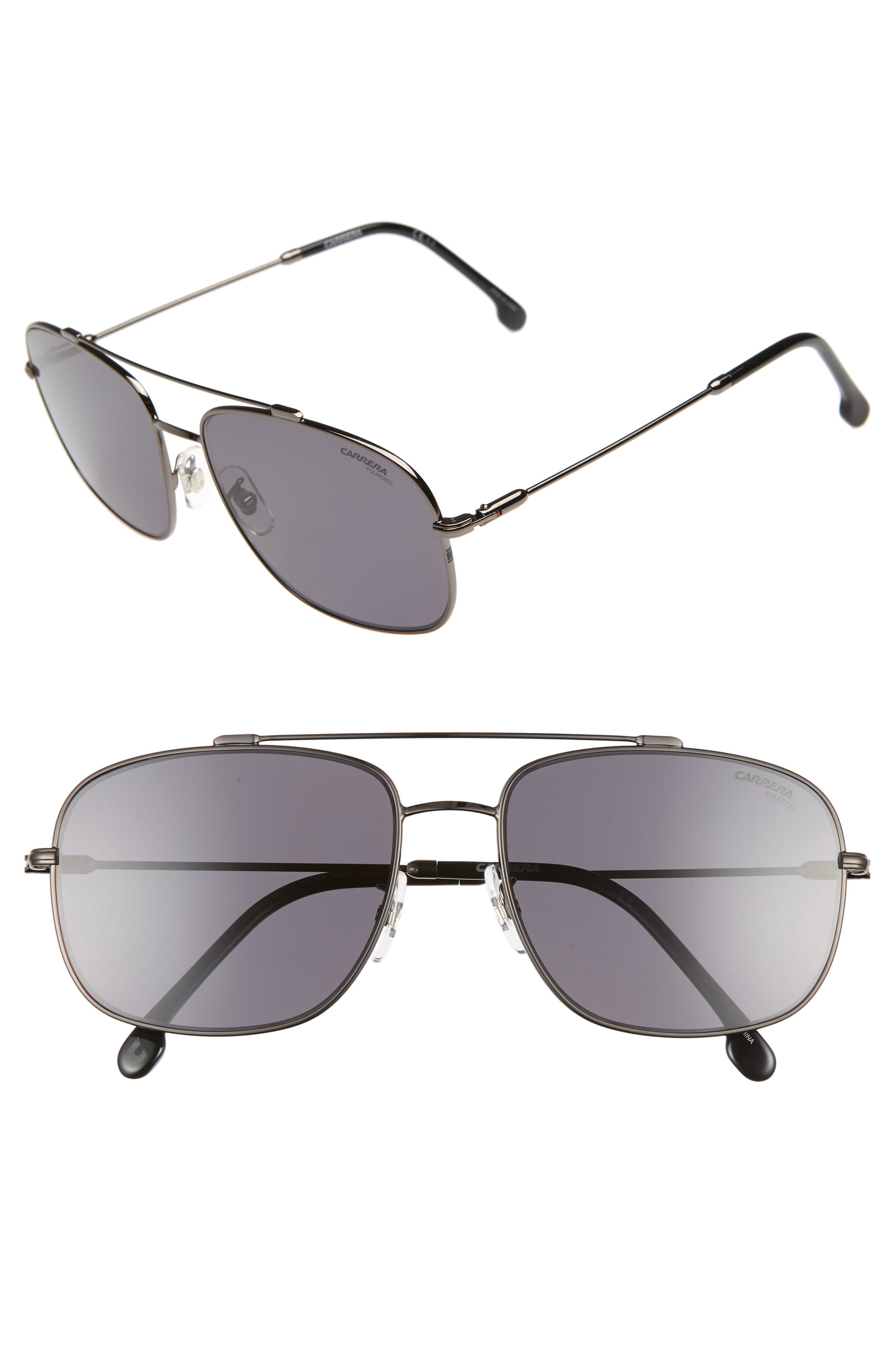 Carrera Eyewear 60Mm Special Fit Polarized Navigator Sunglasses -
