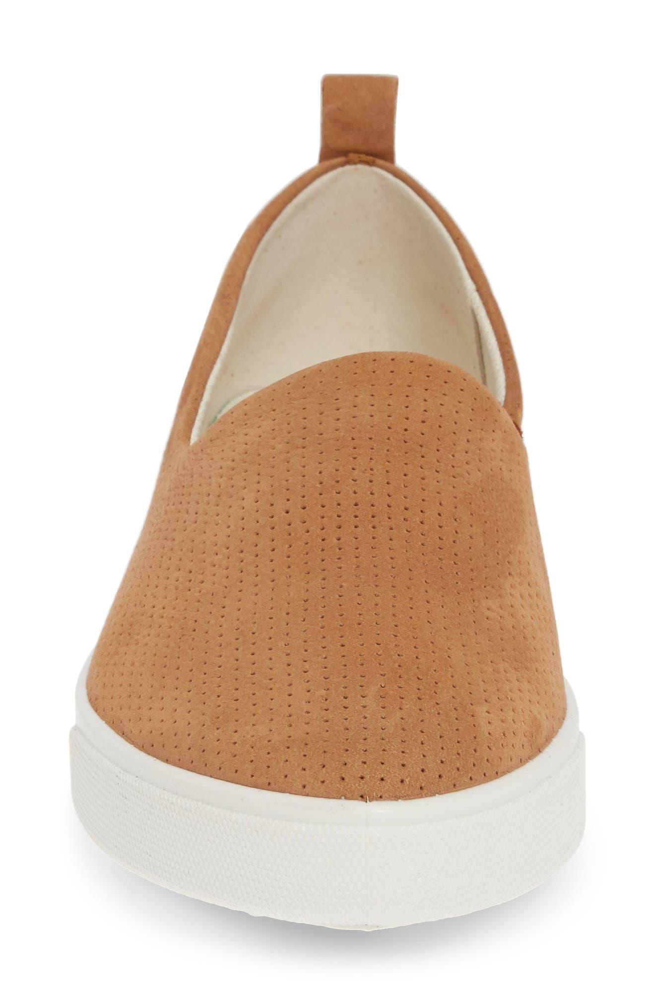 ,                             Gillian Slip-On Sneaker,                             Alternate thumbnail 4, color,                             CASHMERE LEATHER