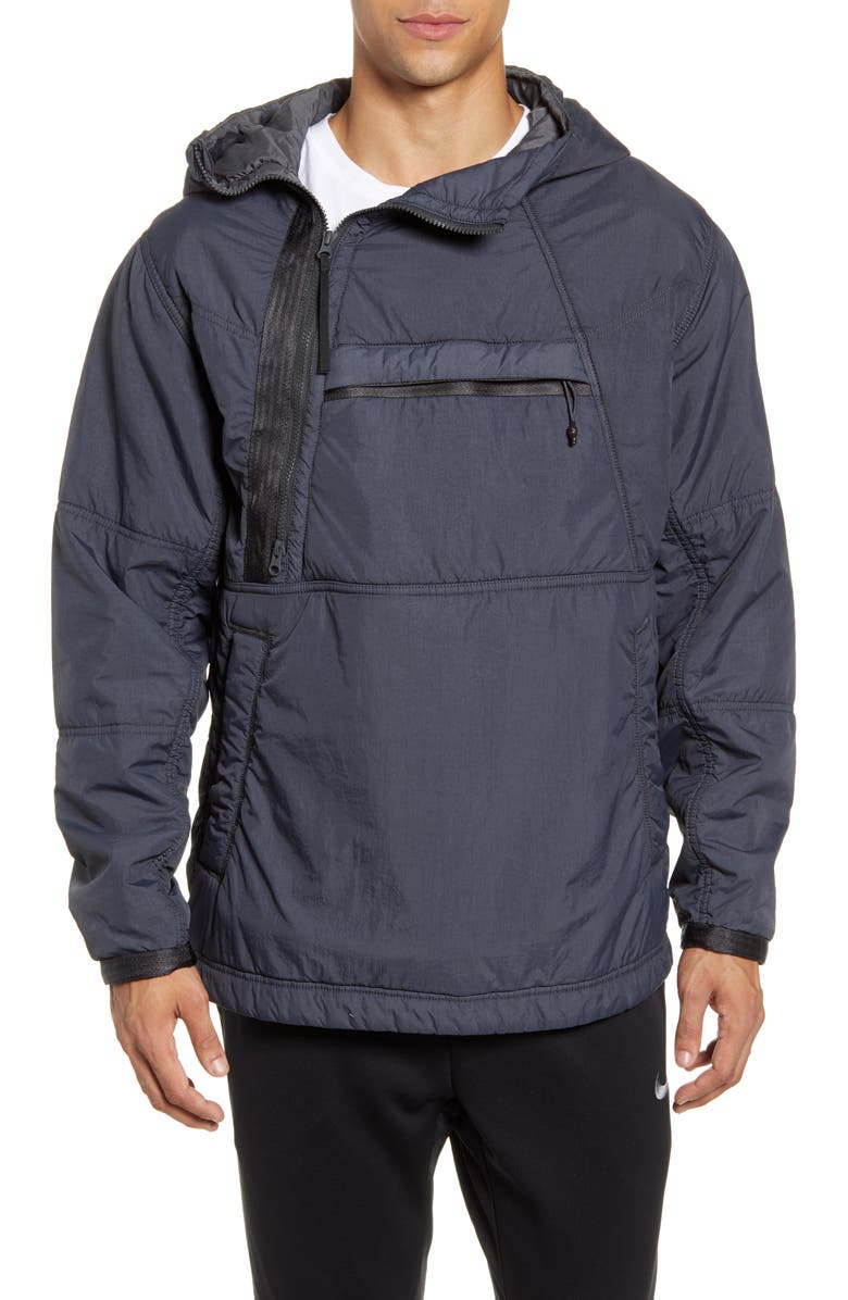 NIKE Sportswear Tech Pack Jacket, Main, color, ANTHRACITE/ BLACK