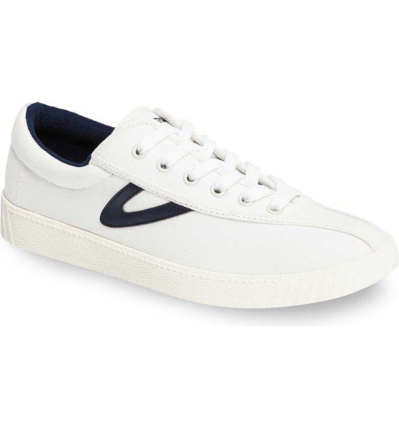 TRETORN Nylite Plus Sneaker, Main, color, WHITE/ WHITE/ NIGHT CANVAS