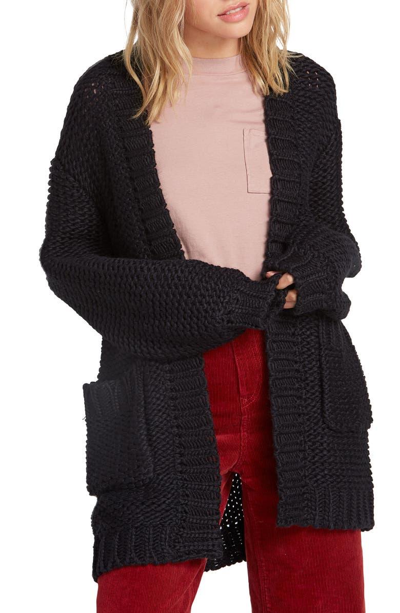 Volcom Knit List Cardigan